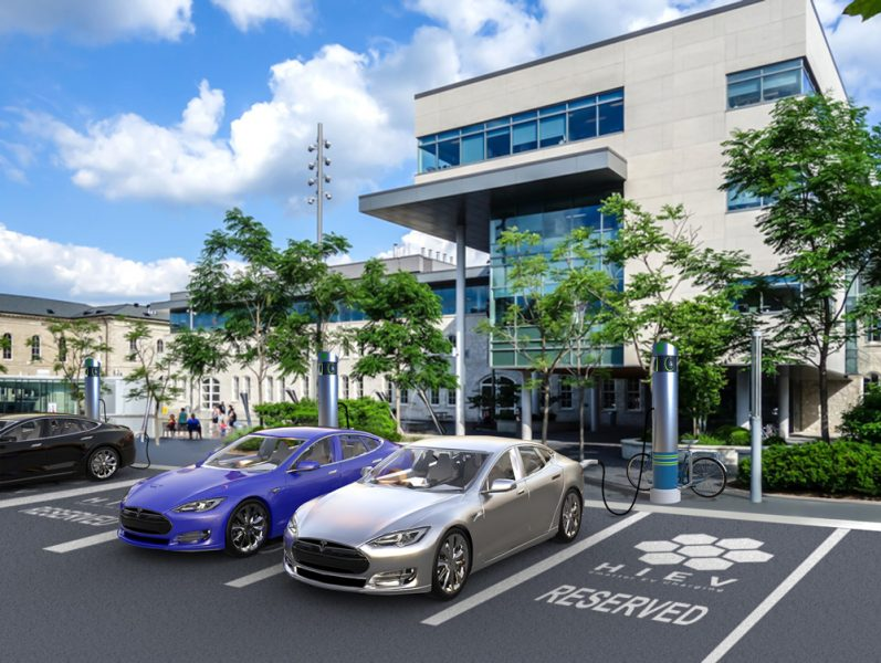 HIEV-Valet-Reserved-Charging-Station-commerical-building